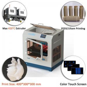 Quality 110V/220V High Temp 3D Printer , CreatBot F430 Industrial Grade 3d Printer for sale