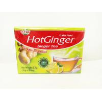Quality Healthy Instant Drink Powder , Sweet And Warm Lemon Flavor Ginger Tea for sale