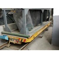 Quality 50 t rectangular electric mold transport bogie steel tubing transfer trolley on railway for sale