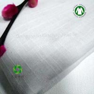 China GOTS Organic cotton slub yarn fabric made in China on sale