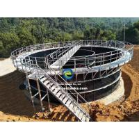 Quality ART 310 Steel Grade Premium Waste Water Storage Tanks Modular Bolted Constructure for sale