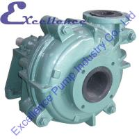Quality High-Density Rubber Lined Industrial Centrifugal Slurry Pump for sale