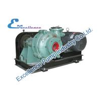 Quality Abrasion Resistant Industrial Centrifugal Slurry Pump , Packing Seal For Coal for sale