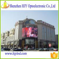 Big Outdoor Full Color LED Video wall P6 Electronic Advertising Rental video wall Screens