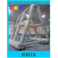 Quality 0.6 mm pvc tarpaulin inflatable water billboard for advertising for sale