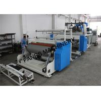 Quality 1000 mm Stretch Film Jumbo Roll Extrusion Machine With Two Screw For 2 Layer for sale