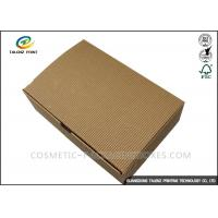 Quality Folding Shoes Custom Corrugated Boxes 1mm 1.5mm Rigid Cardboard Thickness for sale