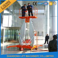 Quality Mobile Aerial Working Electric Lift LadderRenting Scaffoldingwith 4 Wheels for sale