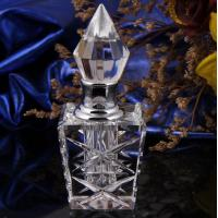 Quality Customized Vintage Crystal Perfume Bottles Silk-Screen Printing Surface for sale