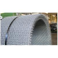 Quality Acid Resisting Galvanized / Stainless Steel Pre Crimped Wire Fencing , SGS for sale