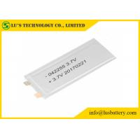 Quality LP042255 Rechargeable Lithium Polymer Battery 3.7V for sale