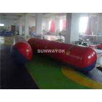 China Durable Inflatable Inflatable Hot Dog / Floating Sausage Water Games on sale