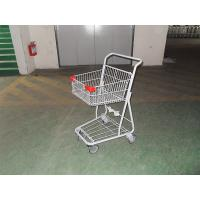 Grocery Portable Four Wheeled Shopping Trolley with Powder Coating