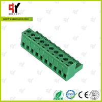 Quality Wire Range 28-12 AWG Pluggable Terminal Block Connector , Electrical Connector Block for sale