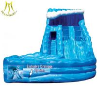 Quality Hansel  commercial grade inflatable water slides giant inflatable slide for sale for sale