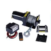 Quality 2000lb portable electric boat winch 12V for sale