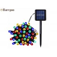 Quality 12M 100LED Holiday Solar LED Christmas Lights IP 65 8-15 Hours Lighting Time for sale