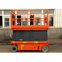 Quality Electric Self Propelled Aerial Work Platform Mobile Hydraulic Man Lift Equipment for sale