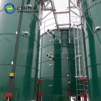 Quality Sewage Holding Tank Consists Of Glass - Lined Steel Panels With Superior Storage Tank Performance for sale