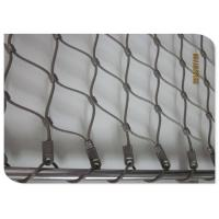 China X Tend Wire Rope Mesh Webnet , Stainless Steel Wire Rope Net Decoration on sale