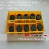 Quality PCBN CBN inserts and cutter, pcbn turning tool Mary@moresuperhard.com for sale