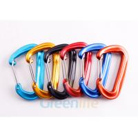 Quality D Shape Snap Hook Carabiner Aluminum 7075 Material Good Accessory For Lanyards for sale