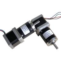 Quality Nema 14 Geared Stepper Motor 35mm High Torque Hybrid  Type For Textile Equipment for sale