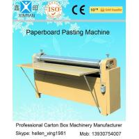 Quality BJ Series Of Gum Mounting Machine Automatic Carton Stapler For Corrugated Paperboad for sale
