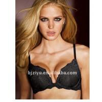 Quality Black G H I J / K cup Hand Wash Breathable OEM Padded Plus Size Convertible Bra For Ladies for sale