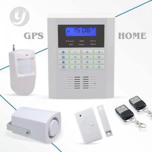 China Pstn Home Gsm Security Alarm System Quad-band LCD Display Intruder Alarm on sale