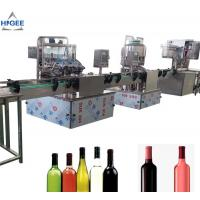 China Alcohol Carbonated Drink Filling Machine Line For Vodka Whisky GIN Sealing on sale
