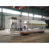 Quality 10000L Gas LPG Tank Customized For Mobile Petrol Gas Filling Station for sale