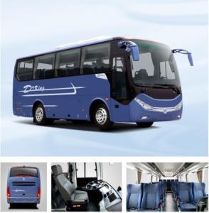 Quality 24 - 35seats Luxury Coach Bus , Dongfeng Public Passenger Transport Bus for sale