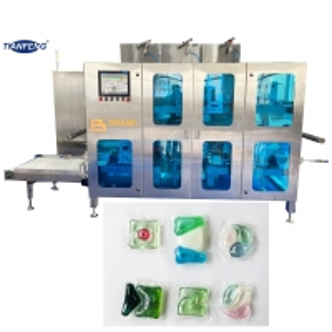 Quality PVA Soluble Film Gel Detergent Pod Making Machine for sale
