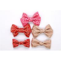Quality Ladies Shoes Bow Tie 55*45mm Fashion Style For Headwear / Shoes / Clothes for sale