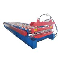 Quality Building Material Roofing Sheet Roll Forming Machine For Metal , Low Noice for sale