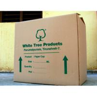 China Brown Printed Corrugated Boxes , Corrugated Storage Boxes Kraft Paper on sale