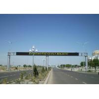 Quality Roadside LED Traffic Display Signs Board Fix LED Screen IP65 Outdoor for sale