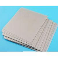 Quality 6 Inch 1.0mm Ceramic Substrate , Alumina Ceramic Plate For Semiconductor Processing for sale