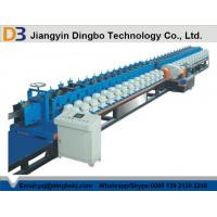 Quality SGS Hollow Metal Door Frame Roll Forming Machine With Hydraulic Post Cutting for sale