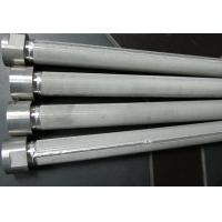 Quality High Filtering Accuracy Wire Mesh Filter Element For Water Treatment , SGS Listed for sale