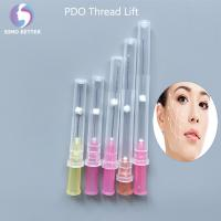 Quality spiral thread lift needle for skin use Disposable Medical Surgical Suture for sale