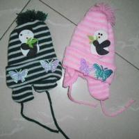 Quality Baby Caps, Available in Pink, Blue, Green and White, Made of 100% Cotton for sale