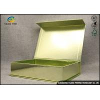 Quality Rigid Paper Cardboard Gift Boxes / Eye Sleep Mask Packaging Box for sale