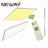 Quality 40W 1200x150 Wireless Remote Control LED Panel Light Dimmable for sale