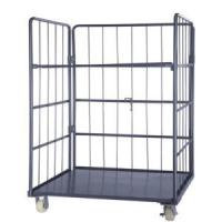 Quality Steel Roll Container-Folding -Warehouse-Storage-Rolling cage container-Trolley. for sale