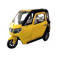 Quality Silent Motor Electric Passenger Tricycle 60V 1000W 45Ah Battery Long Travel Range for sale