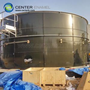Quality 100000 Gallon Porcelain Enamel Irrigation Water Tank For Farm Plant for sale