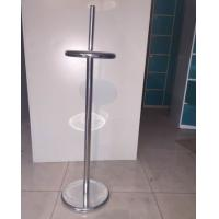 Quality 1150mm Height Supermarket Accessories Anti - Rust Plastic Bag Holder for sale