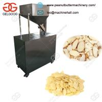 Quality Factory Manufacture Badam Pista Slice Cutting Machine Low Price for sale
